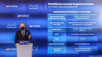 Minister zdrowia Adam Niedzielski, fot. Twitter/KPRM