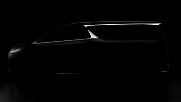 Minivan Lexusa: pierwsza grafika