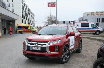 Mitsubishi ASX przekazany służbie zdrowia