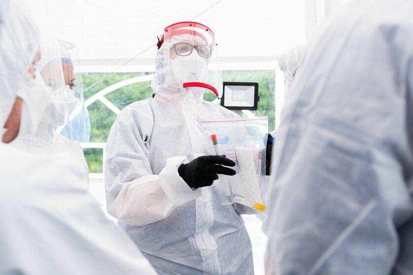 Mobilny test na koronawirus