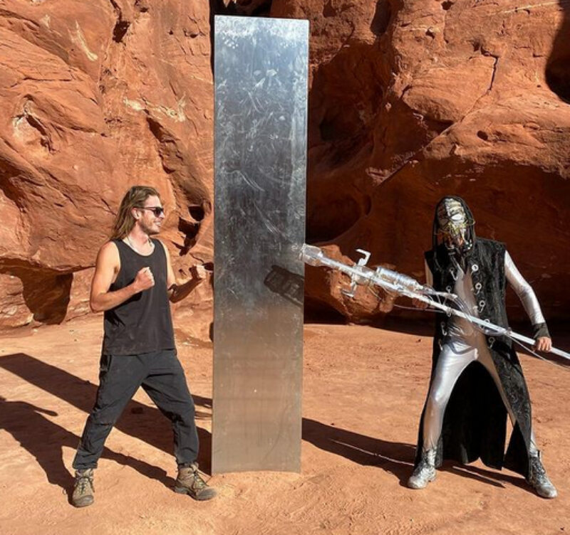 Monolit w Utah został odnaleziony
