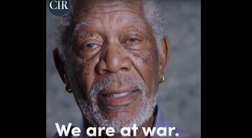 Morgan Freeman w nagraniu CIR