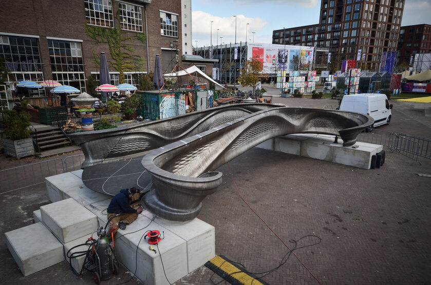 Most z drukarki 3D