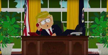 Mr Garrison jako prezydent USA