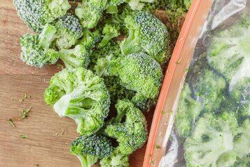 Mrożone brokuły, zdj. ilustracyjne