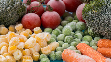 Mrożone warzywa, zdjęcie ilustracyjne