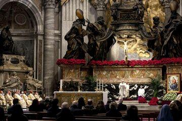 Msza w Watykanie, zdj. ilustracyjne