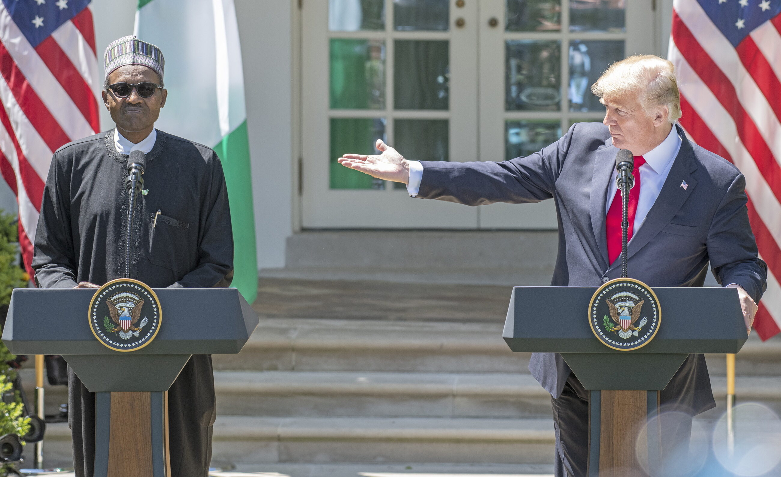 Muhammadu Buhari i Donald Trump