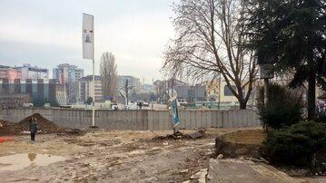 Mur w Mitrovicy