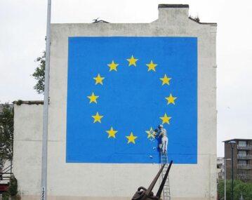 Mural Banksy'ego w Dover