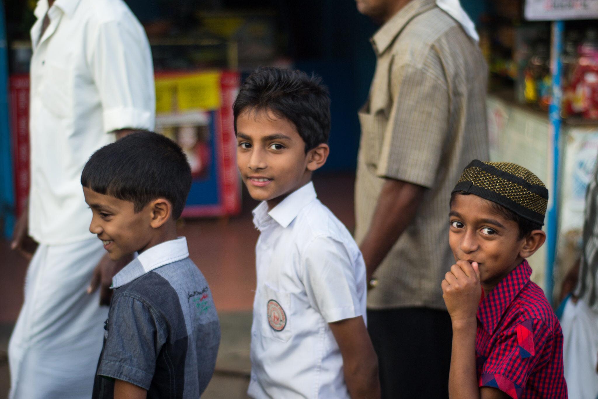 Muzułmańscy chłopcy