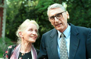 Na zdjęciu: Andrzej Zawada z żoną Anną Milewską