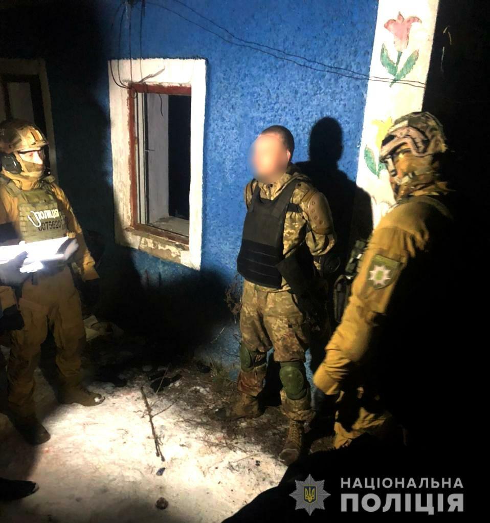 Nagranie ukraińskich służb z zatrzymania mężczyzny