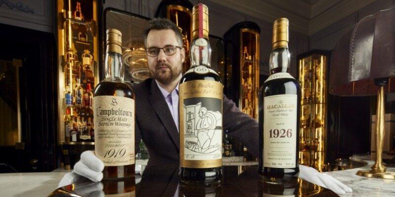 Największa prywatna kolekcja whisky wystawiona na aukcji
