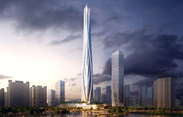 Najwyższy budynek w Chinach