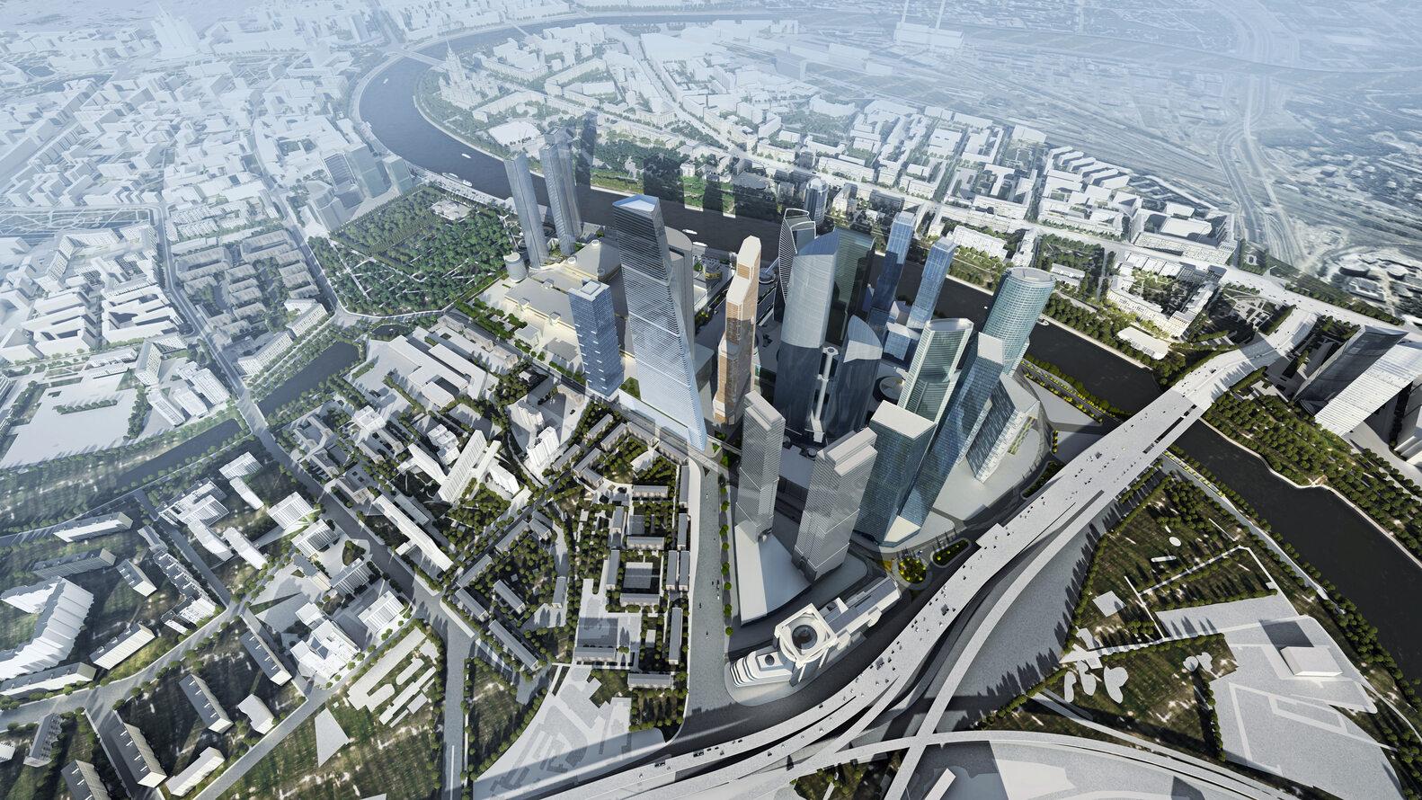 Najwyższy budynek w Moskwie