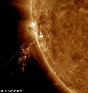 NASA na bieżąco monitoruje aktywność Słońca