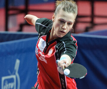 Natalia Partyka, pięciokrotna mistrzyni paraolimpijska, ambasadorka marki Enea