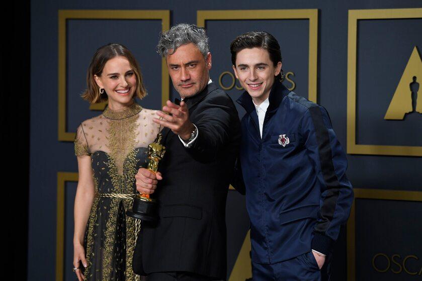 Natalie Portman, Taika Waititi i Timothee Chalamet