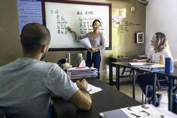 Nauka chińskiego, zdjęcie ilustracyjne