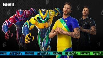 Neymar w Fortnite. Grafika promocyjna