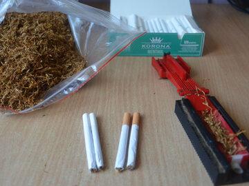Nielegalny tytoń kupiony w sieci