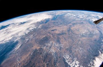 Niemcy i Europa Środkowa widziane z kosmosu