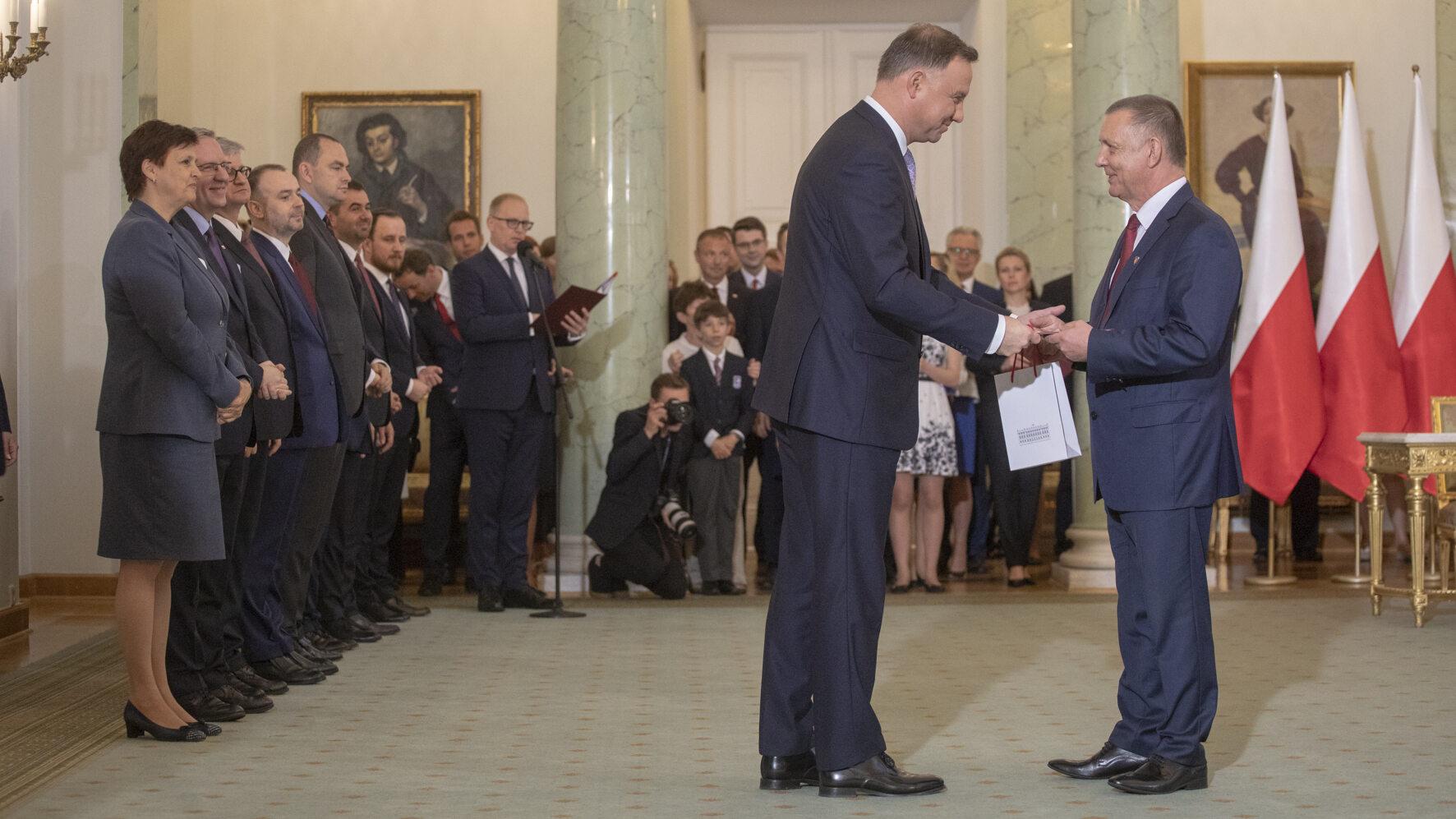 Nominacja ministra Mariana Banasia