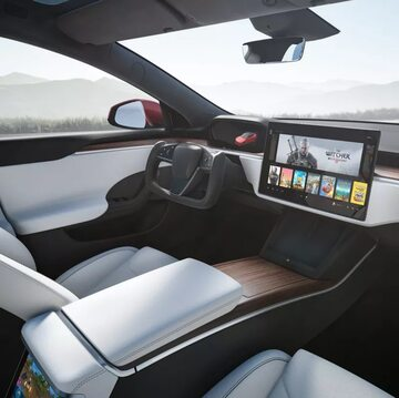 Nowa Tesla Model S