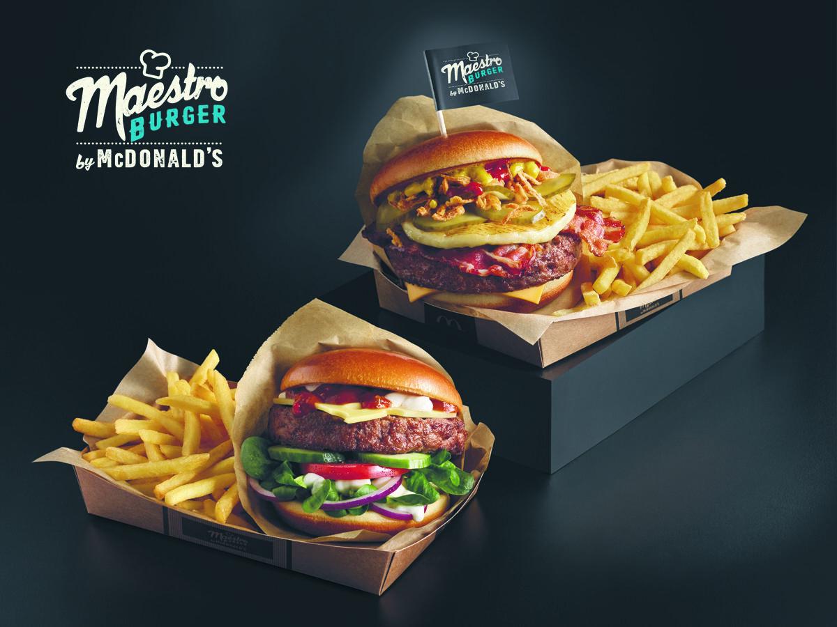 Nowe burgery w ofercie McDonald's