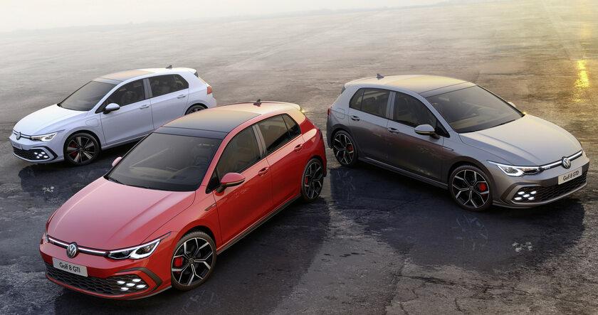 Nowe Golfy GTI, GTE i GTD
