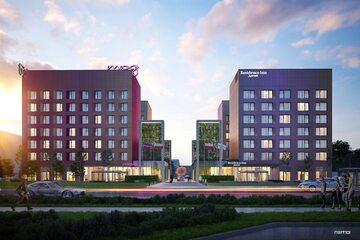 Nowe hotele sieci Marriott w Warszawie