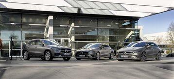 Nowe hybrydy plug-in Mercedesa