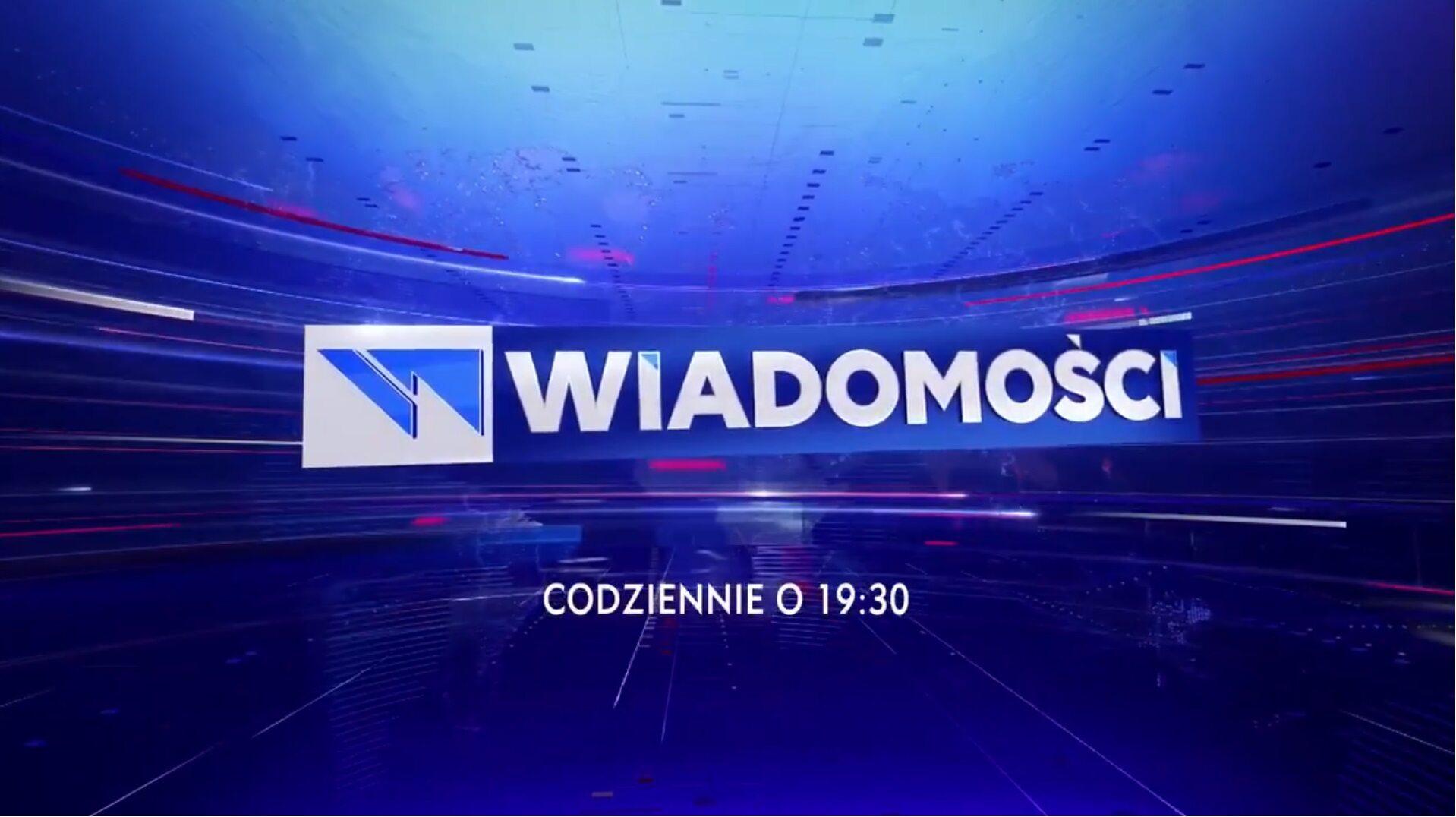"""Nowe logo """"Wiadomości"""" TVP"""