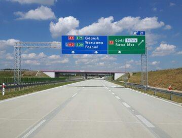 Nowe oznakowanie na polskich drogach szybkiego ruchu
