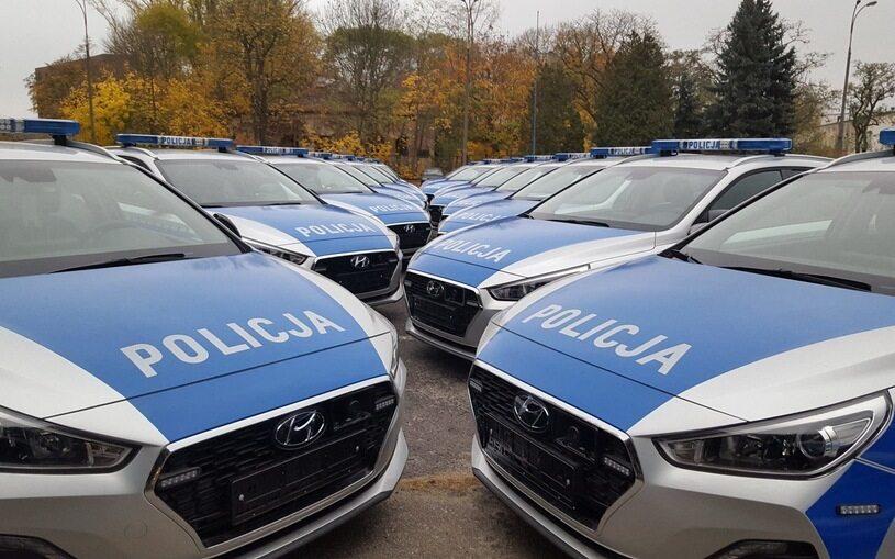 Nowe radiowozy policji