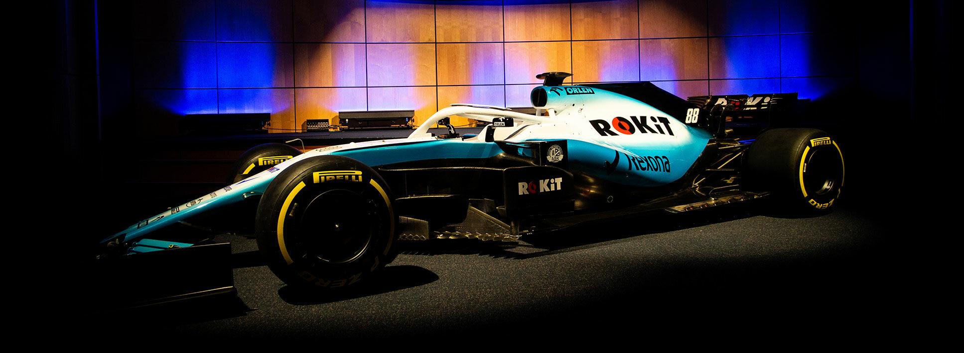 Nowy bolid Rokit Williams Racing
