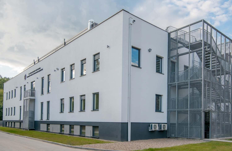 Nowy budynek 107 Szpitala Wojskowego w Wałczu