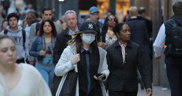 Nowy Jork podczas pandemii, zdjęcie ilustracyjne