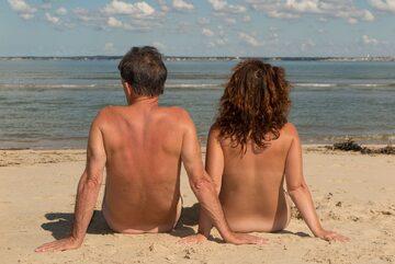 Nudyści na plaży