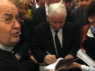 O. Tadeusz Rydzyk i Jarosław Kaczyński