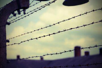Obóz koncentracyjny, zdjęcie ilustracyjne