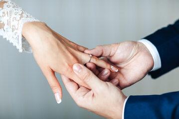Obrączki, ślub