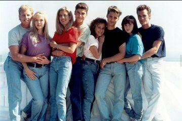 "Obsada serialu ""Beverly Hills, 90210"""