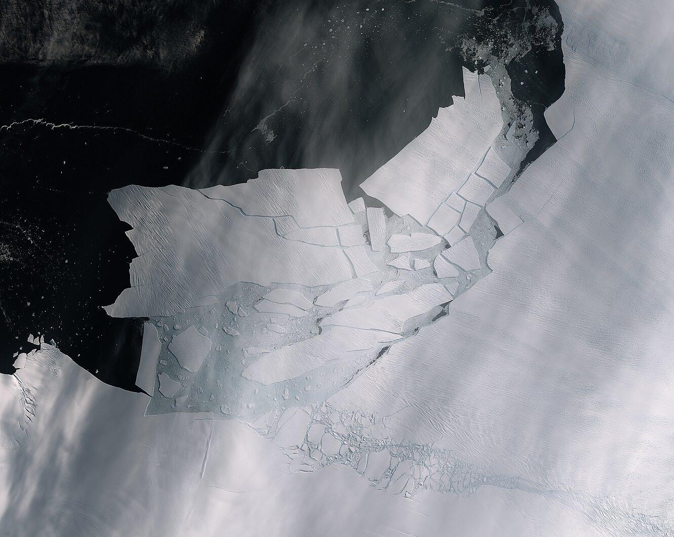 Ocielenie się lodowca Pine Island