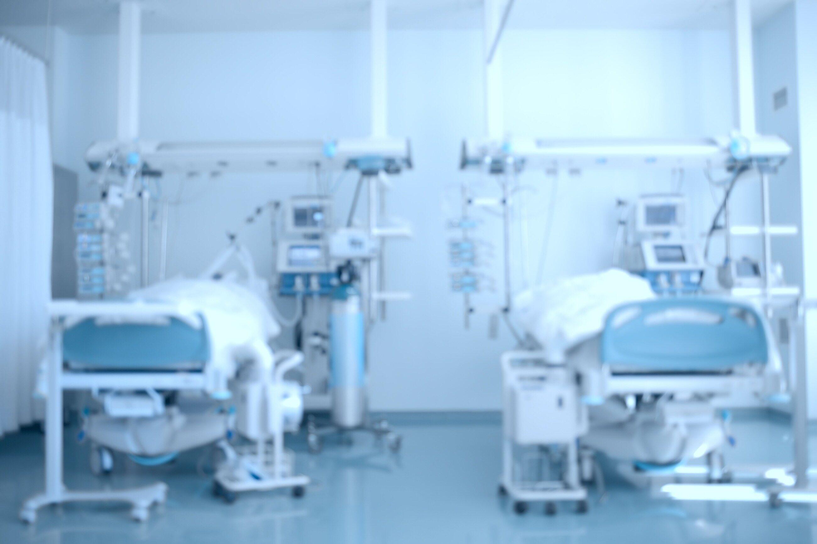 Oddział intensywnej opieki medycznej, zdj. ilustracyjne
