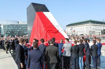 Odsłonięcie Pomnika Ofiar Tragedii Smoleńskiej 2010 roku