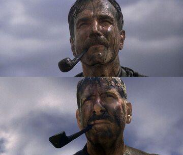"""Odtworzona przez Lawrence'a Shera scena z filmu """"Aż poleje się krew"""""""