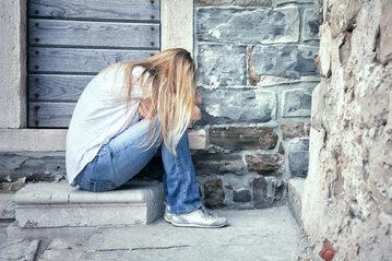 Ofiara gwałtu, zdjęcie ilustracyjne