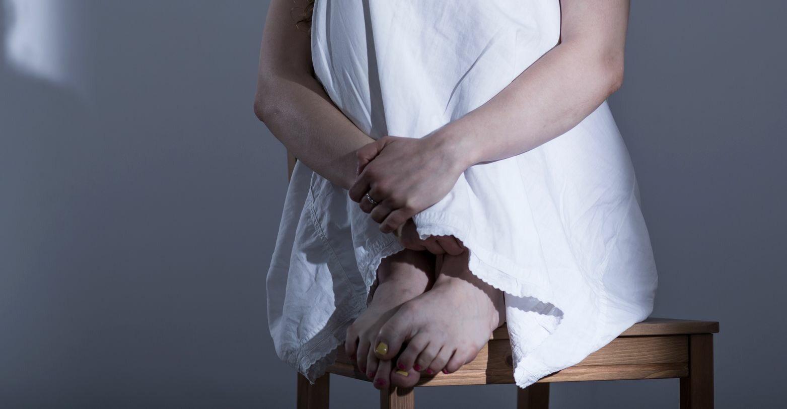 Ofiara przemocy, zdj. ilustracyjne
